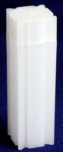 100 Coin Safe Square Coin Tubes for 50 SMALL CENTS