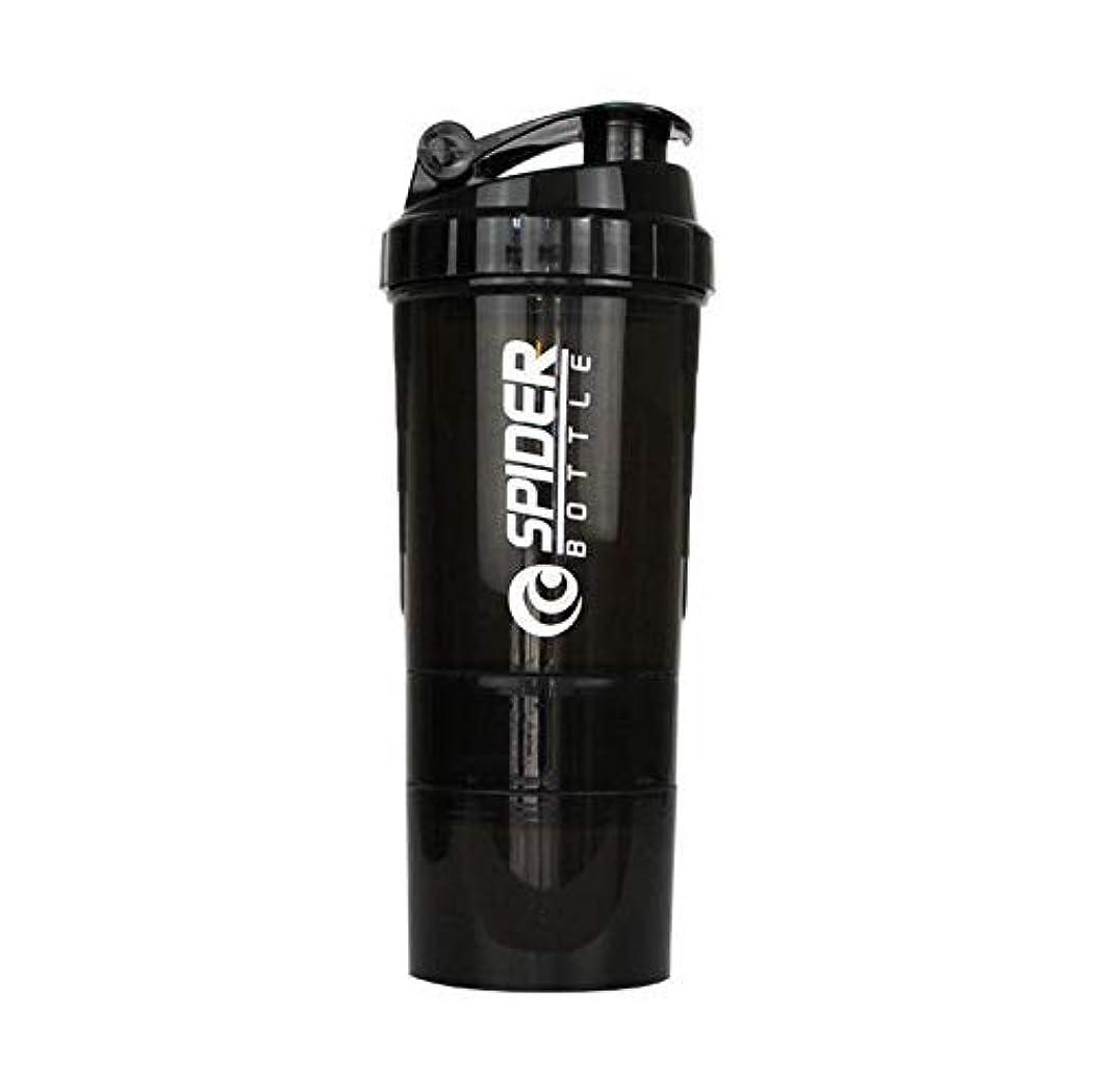 きゅうりサイレン険しいTrueland ブレンダーボトル プロテインパウダー揺れ瓶 プロテインシェーカー 栄養補助瓶 スナップ式 500ml