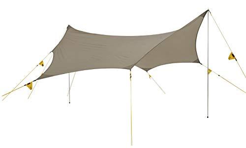 Wechsel tenten Tarps - Travel Line - Universal Tarp Shelter, Lichtgewicht, Bruin