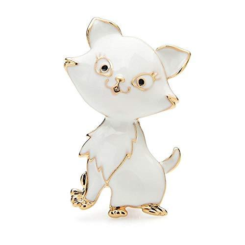 GLKHM Broches Esmalte Broches De Gato Esmaltados Mujeres Mascotas Broches De Animales
