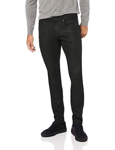 G-Star Raw Men's Revend Super Slim Fit Pant in Black Print Stretch Denim, 3D Dk Aged, 30x30