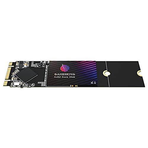 SSD M.2 2280 128GB GamerKing Disco Duro Interno De Unidad de Estado Sólido de Alto Rendimiento 1tb 512gb 256gb 64gb para Computadora Portátil de Escritor (128GB, M.2 2280)