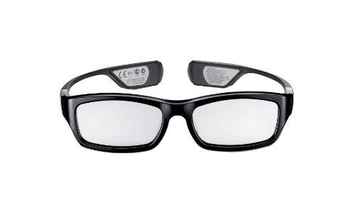Samsung SSG-3300GR/XC wiederaufladbare 3D-Brille (nur für die Modelle der D-Serie geeignet) schwarz