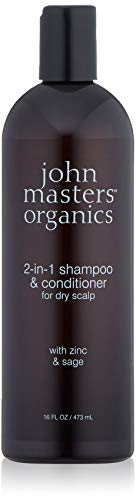 2in1 Shampooamp Conditioner for Dry Scalp with Zinc amp Sage 16 oz