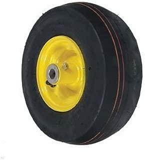 John Deere Riding Mower Caster Wheel Smooth 11X4X5 Yellow Part No: A-B1SB8551, AM101589, 175725, 8551