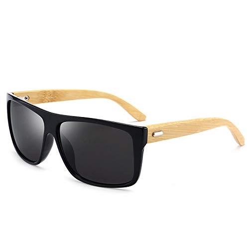 Gafas de Sol Sunglasses Gafas De Sol Nerzhul para Hombres, Mujeres, Más Vendidos, Gafas De Sol, Gafas De Sol para Hombre, Gafas De Sol De Madera Vintage, Gafas De Sol, Gafas De Espejo De Marca, Negro