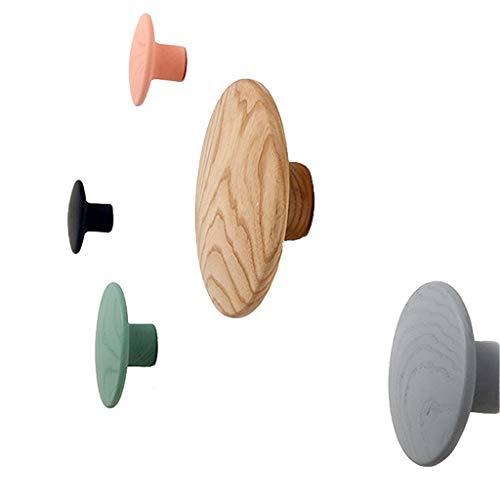 XXT Hook Up Inloggen Planken Hook Kapstok Planken Spijkers Ronde Dot Decoratie portiekwoning Living Room Wanddecoratie