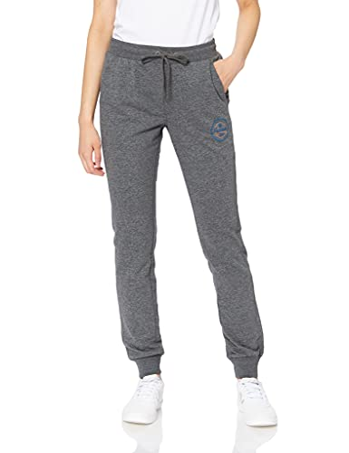 hummel Damen HMLBELLA Pants Hose, Dark Grey Melange, S