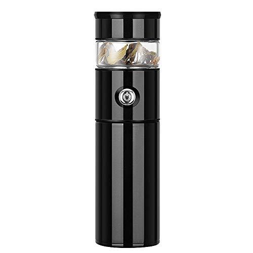 Thermos à thé en acier inoxydable 316 - 500 ml - Noir