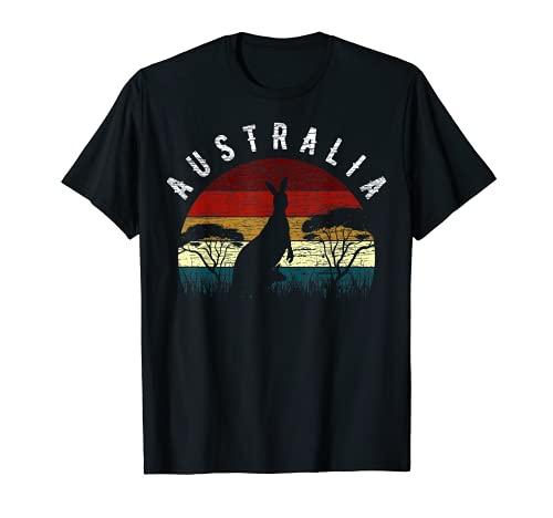 Australia Especies Bosques tropicales Bosques Woodlands Canguro Top Camiseta