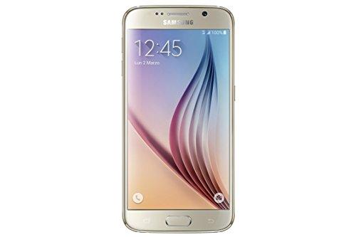 Samsung Galaxy S6 Smartphone simlockfrei, Android, Bildschirm 13cm (5,1Zoll), Kamera 16MP, 32GB, Quad Core 2,1GHz, 3GBRAM