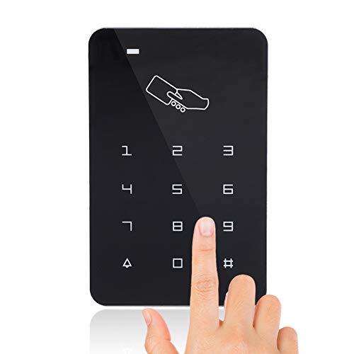 RFID Zugangssystem Codeschloss Türöffner, Touch-Tür-Ausgangskontrolle-Lesegerät Sicherheit Türzugriffskontrolle für den Hausschutz