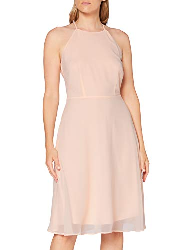 ESPRIT Collection Damen 040EO1E342 Kleid, 695/PASTEL PINK, 40