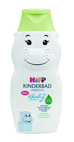 Hipp Babysanft Kinderbad in Nilpferdform Hippo, 300ml