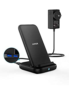 One for All: Adaptive charging modes give your device the power it needs: 5W for all standard Qi-compatible devices, 7.5W for iPhone fast charging, and 10W for Samsung fast charging. Multi-Charging: While wirelessly charging your phone, you can simul...
