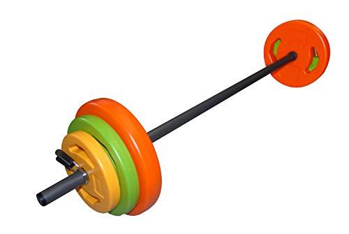 Tunturi Weight Set Pump Aerobic, Unisex Adulto, Multicolor, 20 kg