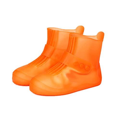 Lpimbgr Regenüberschuhe,Wiederverwendbare Silikon Wasserdicht Schuhüberzieher, Für Regen, Schneetag, Schlammige Straßen,Schuhschutz,rutschfeste Überschuhe für Männer...