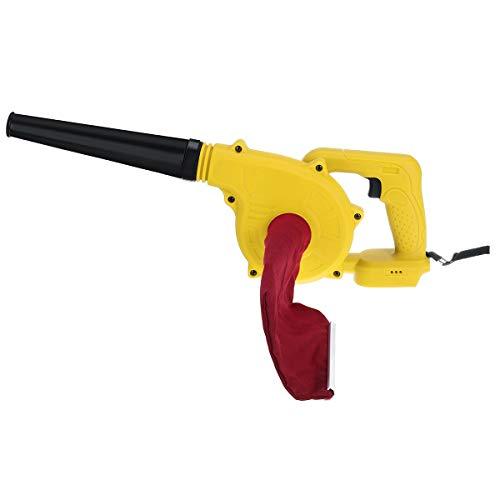 AYGANG Sin Cable eléctrico de Aire del Ventilador de la Hoja de Mano del Ventilador Amp;Herramienta de Limpiador de succión del colector de Polvo del Ordenador soplador de Hojas (Color : Yellow)