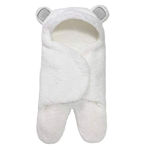 AM NATURALS-Cute Bear Organic Newborn Swaddle Wrap