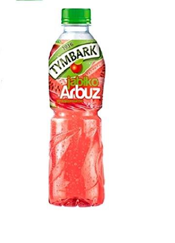 GroßhandelPL Tymbark Multi-Frucht-Getränk Apfel - Wassermelone Fruchtsäfte 12er Pack ( 12x500ml)