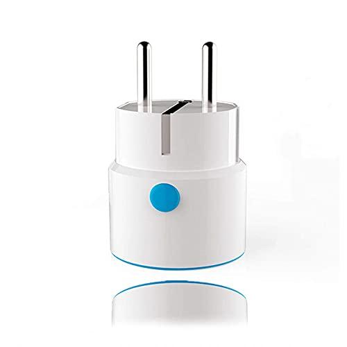 Smart Plugs Z-Wave - Presa per telecomando, senza hub necessario, presa intelligente con telecomando, per allarme Fibaro 110-230 V