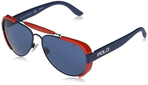 Ralph Lauren Polo PH3129-930380-60 - hombre Gafas de sol - Matte Navy Blue