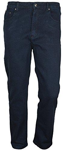 SOUNON Euro Herren Jeans, Dunkelblau - Stretch, Groesse: W41 L30