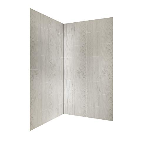 Discover Bargain Foremost GFS424278-DR Jetcoat 42 x 42 X 78 Two Panel Corner Shower Wall Kit