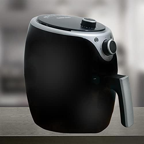REPLOOD Freidora de aire caliente manual sin aceite Airfryer 3,5 l Frigge Cocina 1200 W