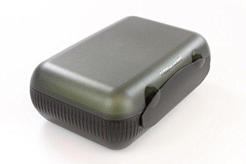 TUPPERWARE Lunchbox mit Trennung To Go schwarz/gelb-grün 9962