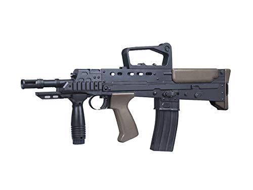 Rayline L86A1 Softair Gewehr (Manuell Federdruck), Material: ABS (Stoßfest), Nachbau im Maßstab 1:1, Länge: 59cm, Gewicht: 1300g, Kaliber: 6mm, Farbe: Schwarz - (unter 0,5 Joule - ab 14 Jahre)