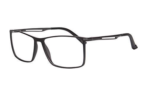 MEDOLONG Occhiali da lettura per computer multifocali progressivi blu ultraleggeri con lenti TR90 Frame-RG25