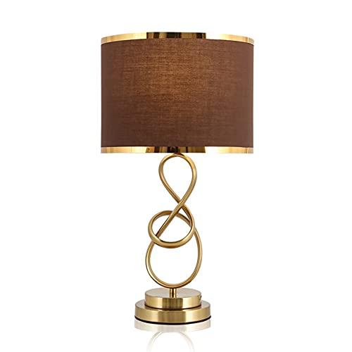 SPNEC Nordic Post-Modern Minimalist Style Creative Table Lámpara Luz de Arte Luz de Luz de Luz Habitación Dormitorio Decoración de la Cama Decoración de la Cama (Color : Coffee)