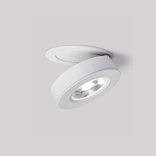 Qiqioog Foco de Techo LED, Downlight Blanco cálido para Pasillo doméstico, Material...