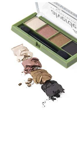 Alverde Naturkosmetik - Lidschatten Palette Quattro Expressive eyes 60-4,4g