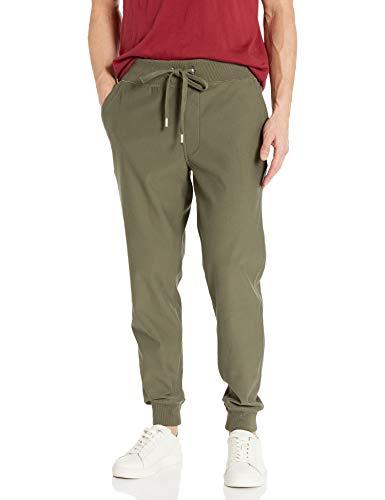 True Religion Herren Jogger Slim Leg fit Sweat Pant Jogginghose, Militant Green, XX-Large