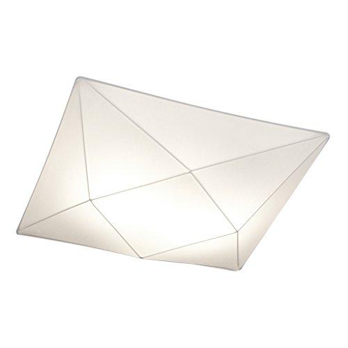 Ole By Fm Iluminacion - Plafon de techo Polaris 5 x E27 Tela Elastica Blanca