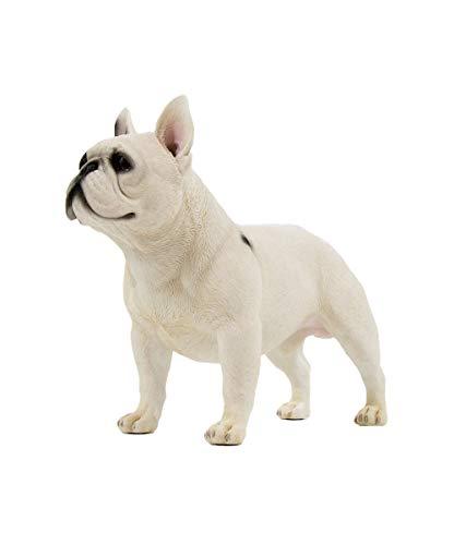 Petorama 100% Handmade Hand Painted Collectible Grade Premium Figurine Gift Lifelike Realistic French Bulldog Statue 1:4 (1)