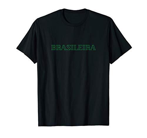 Brasilien Brasileira Brasil Fussball Trikot Brazil Latein T-Shirt