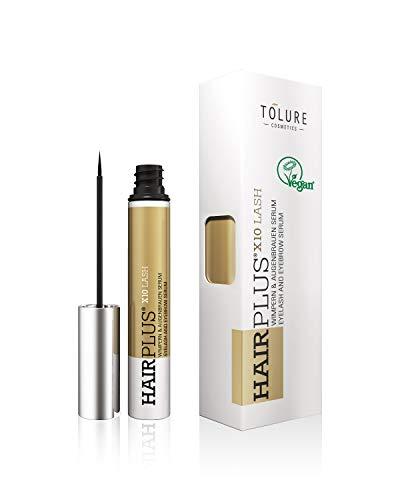 Tolure Hairplus X10 Lash Wimpern- und Augenbrauenserum, 3 ml