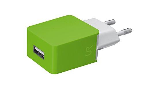 Trust Urban 5 W Universal USB-Ladegerät (geeignet für Smartphone) lime