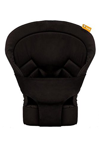 Baby Tula Black Infant Insert for Standard Baby Carrier, Newborn Carry from 7 to 15 pounds