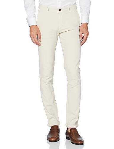 HKT by Hackett Hkt G/Dye Strch Chino Pantalones, Beige (833LIGHT Beige 833), W40 (Talla del Fabricante: 30) para Hombre