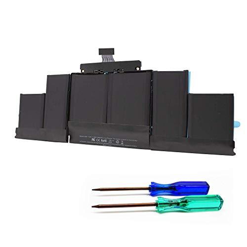"K KYUER A1494 Laptop Akku für MacBook Pro 15\"" 15.4\"" Retina A1398 EMC 2674 2745 2876 2881(Late 2013 Mid 2014) ME293LL/A ME293D/A ME294LL/A ME294D/A ME294B/A ME874LL/A MGXA2LL/A MGXC2LL/A MGXG2LL/A"