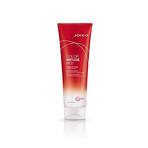 Joico Color Infuse Red Conditioner | Instantly Refresh Red Tones & Enhance Red Highlights | Boost Color Vibrancy & Add Shine | For Red Hair