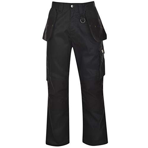 Dunlop Herren On Site Cargo Safety Arbeitshose Hose Mit Taschen Arbeitskleidung Schwarz Medium