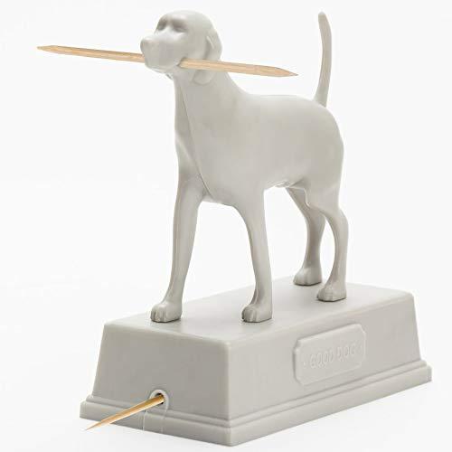 Artori Design   Buen chico   Dispensador de palillos de dientes con diseño de perro   Accesorio para el hogar   Decoración para el hogar   Regalo para la cocina