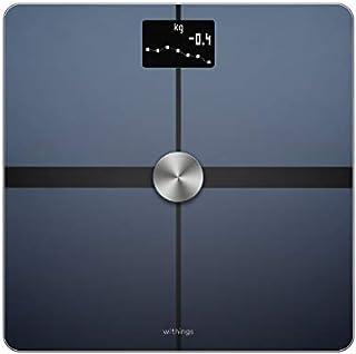 Withings Body + フランス生まれのスマート体重計 ブラック Wi-Fi/Bluetooth対応 体組成計 【日本正規代理店品】 WBS05-BLACK-ALL-JP