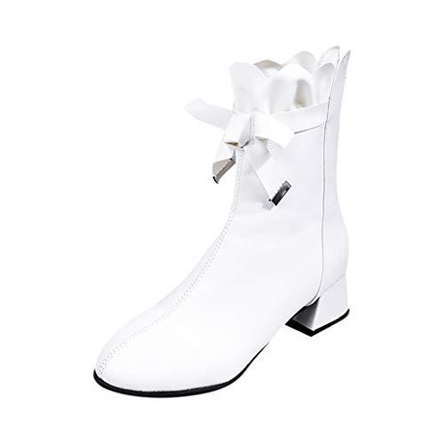 JujiaShoes Stivali donna invernali caldi Scarpe per neve donna Scarpe da neve donna impermeabili Scarpe trekking donna Scarpe da Lavoro Stivale Traspirante Scarpe con fiocco donna sneakers