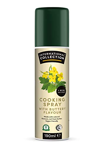 International Collection Cooking Spray Butter 190ml